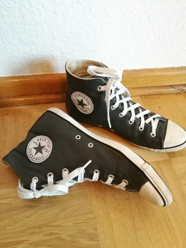 Leder Grau Original Converse All Chucks Vintage Star uPkXZTOi