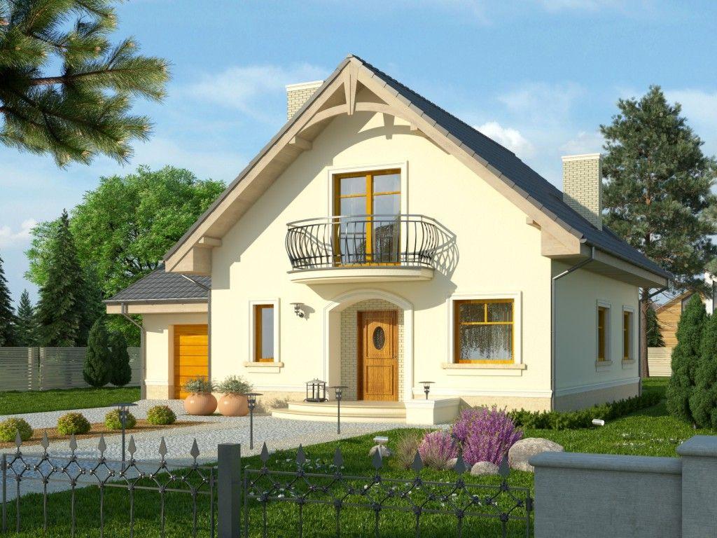 Dom Sorbona Projekty Domów Typu Dworek W Stylu Francuskim Z
