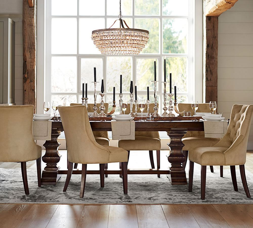 Pottery Barn Table Dining Room Dining Room Furniture