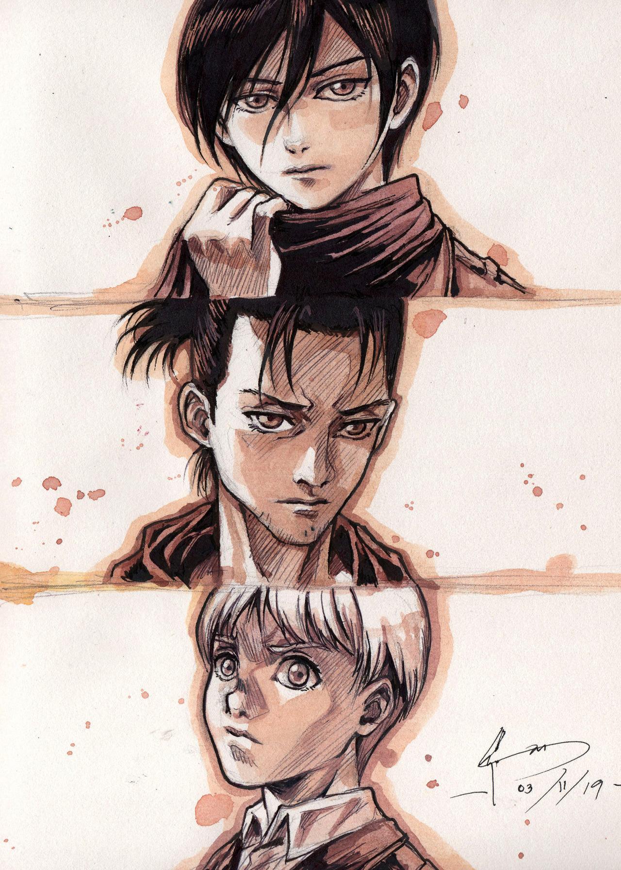 Armin Arlert Tumblr Attack On Titan Anime Attack On Titan Art Armin