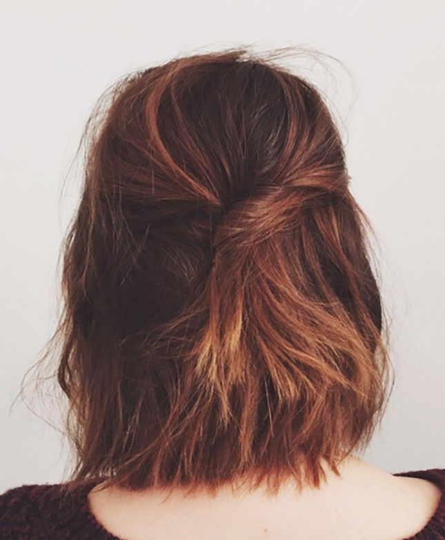 11 Half Up Half Down Hairstyles To Try This Spring Hair Styles Shoulder Length Layered Hair Medium Length Hair Styles