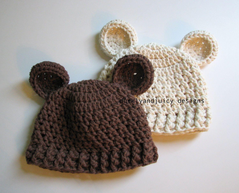 Crochet Baby Hat   Gorros   Pinterest   Para bebés, Bebé y Gorros