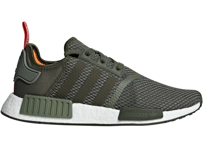 adidas NMD R1 Olive Orange | Style in 2019 | Adidas nmd r1