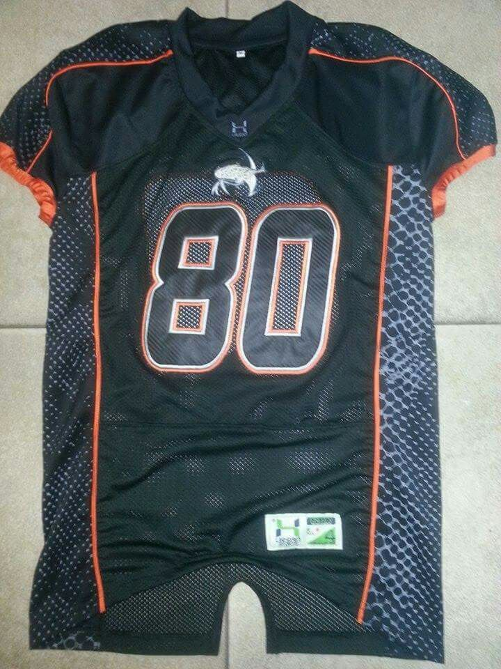 21e952ce1f3 Sublimated football jersey. Coolmax mesh. Takkle twill | American ...