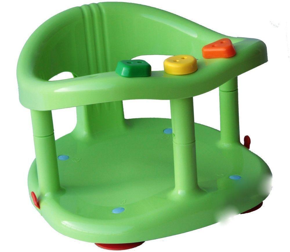 Baby Bath Seat Safety Tub Ring Infant Bathtub Seat Anti Slip Chair ...