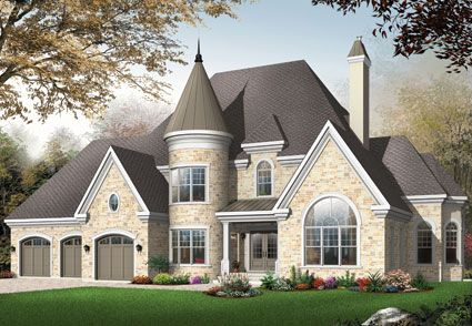 House Plans Home Plans And Floor Plans From Ultimate Plans Castle House Plans Victorian House Plans Country Cottage House Plans