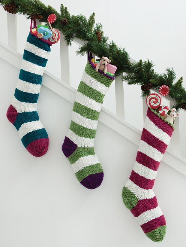 Sugar Plum Stockings | Your Knitting Life Magazine | stockings ...
