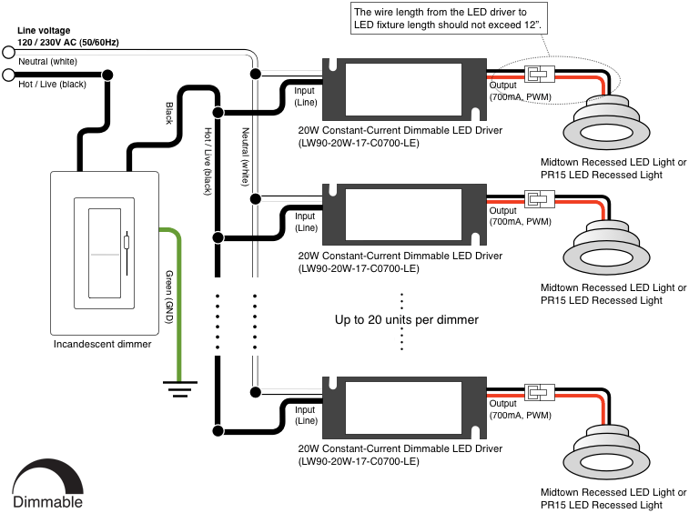 pot light wiring diagram