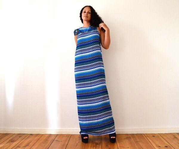 DIY Maxikleid ohne Nähen in 5 Minuten – Sommerkleid, Strandkleid ...