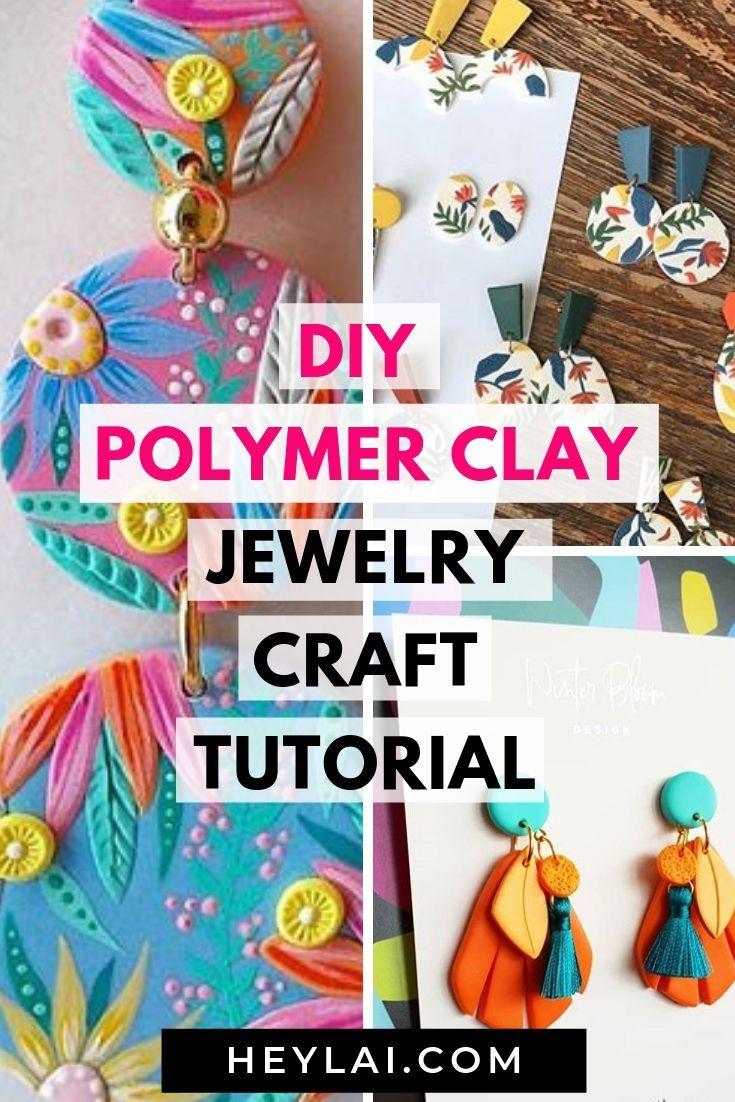 Photo of DIY Polymer Clay Jewelry Crafts – Hey Lai
