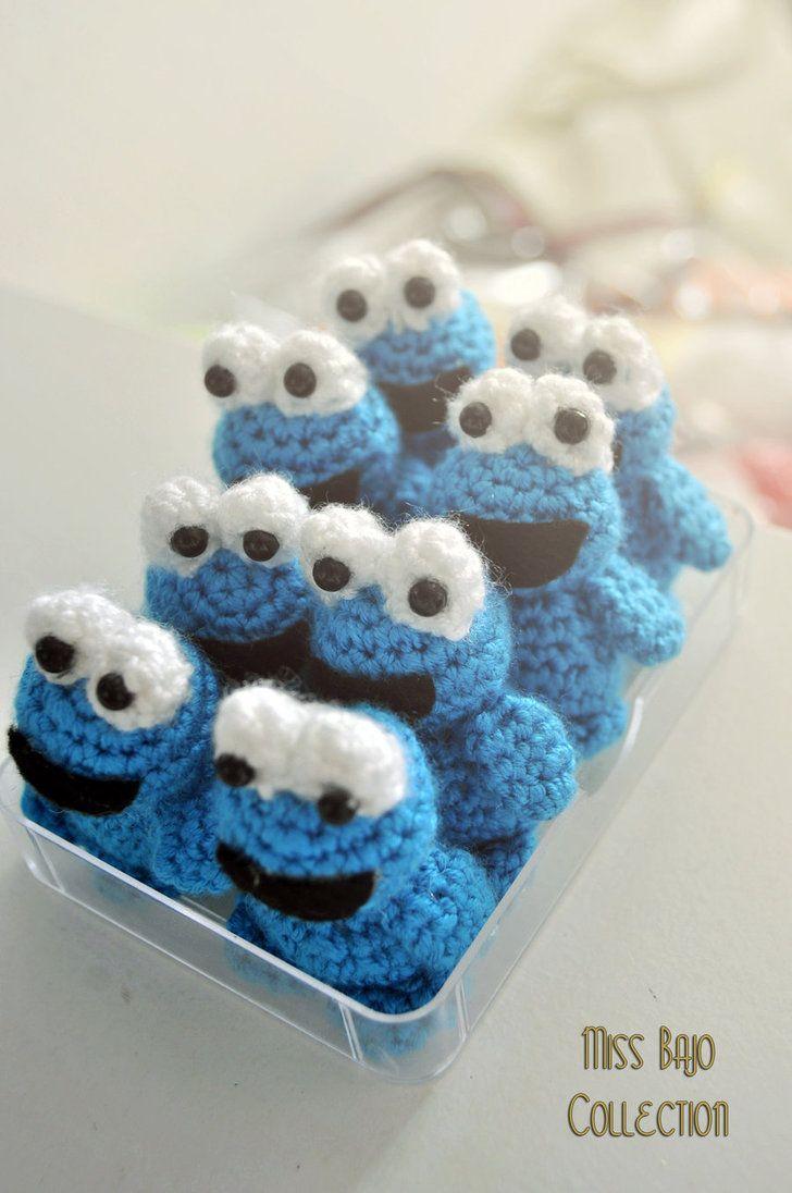 Cookie Monster Crochet by ~MissBajoCollection on deviantART