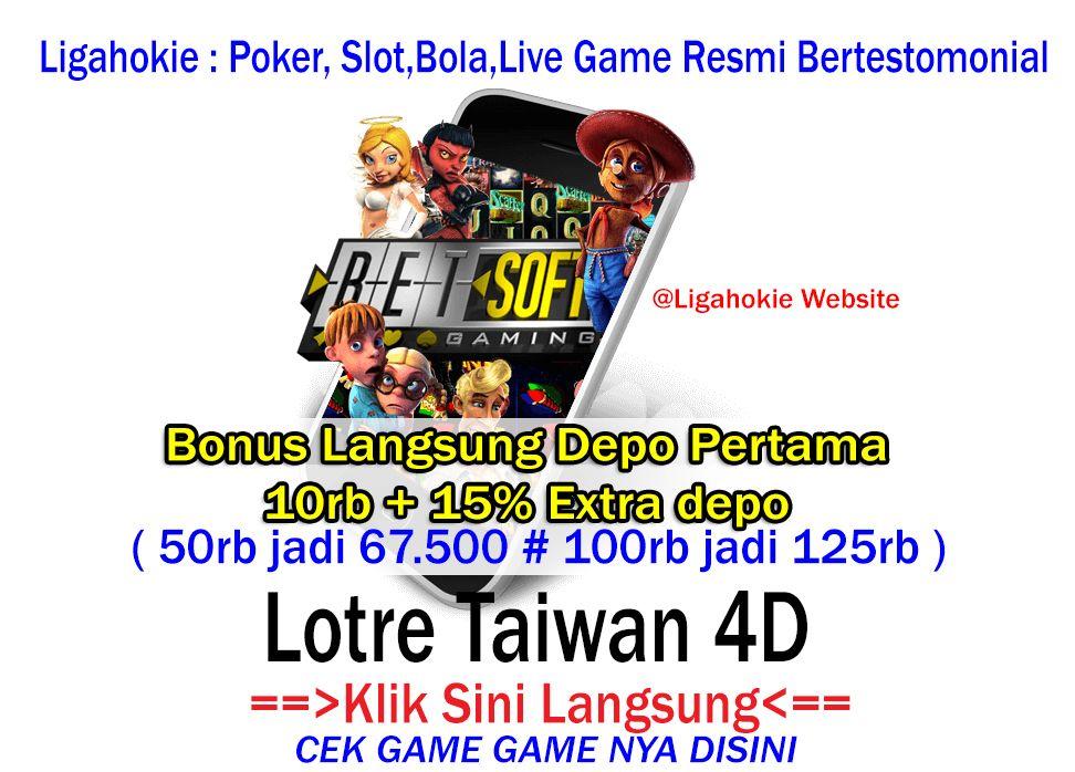 Lotre Taiwan 4d Bonus 10rb 15 Member Baru Taiwan Poker Slots