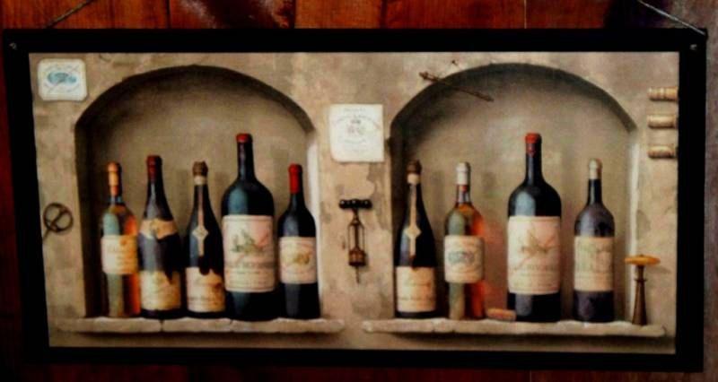 Wine Kitchen Wall Decor Plaque By Ozarkmtnhomestead 17 97