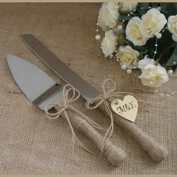 Hey, I found this really awesome Etsy listing at https://www.etsy.com/listing/250767265/wedding-cake-server-set-and-knife-rustic