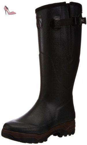 PARCOURS 2 BOTT, Chaussures de Chasse homme, Noir (Noir), 48 EU (13)Aigle