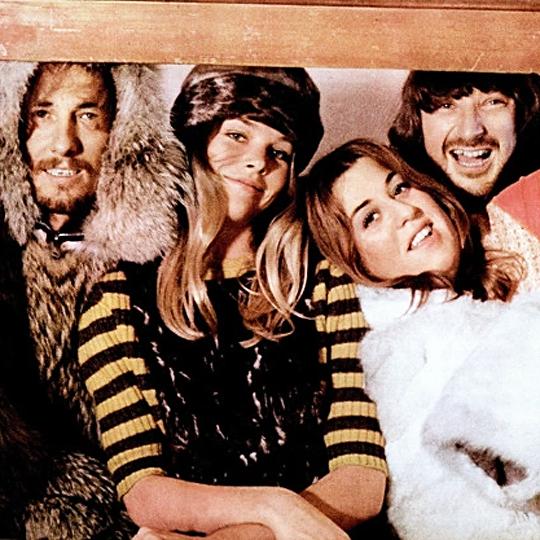 The Mamas & the Papas photographed for Bravo magazine, 1967