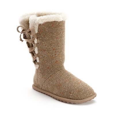 Boot Slippers - Women | Womens slippers