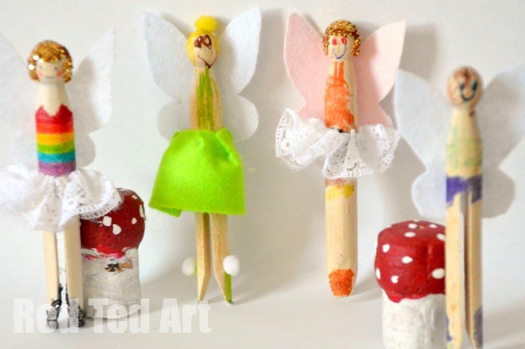 Rainbow Fairy Dolly Pegs Kid Stuff Rainbow Fairies Fairy Dolls