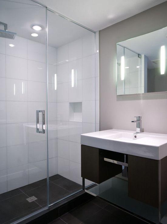 Restored 1969 Modern Glass House Bathroom Design Modern Bathroom Mold In Bathroom