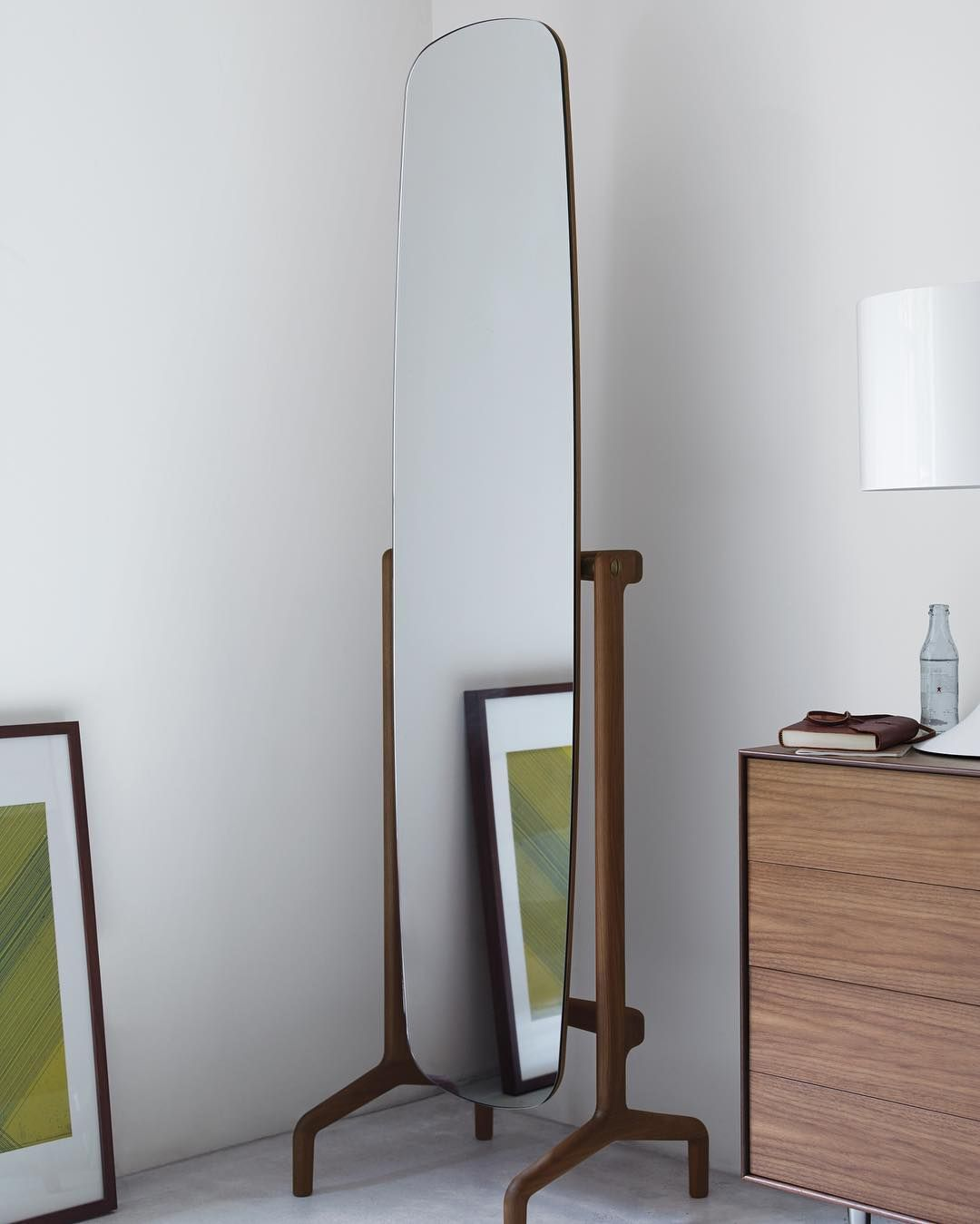 Design Within Reach On Instagram Beautiful You On One Side Stunning Canaletto Walnut On The Other D Mirror Designs Aesthetic Room Decor Design Within Reach