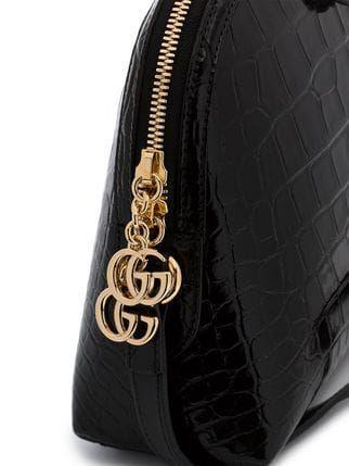 41d323ae87c Gucci Black Ophidia Crocodile Skin Shoulder Bag in 2019 ...