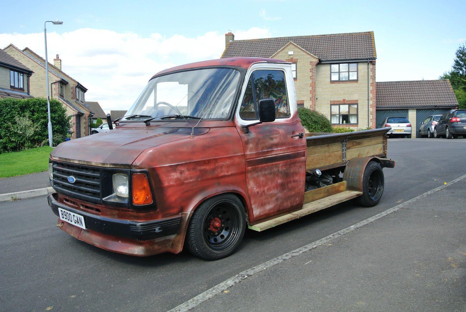 mk2 ford transit hot rod custom pick up retro ford. Black Bedroom Furniture Sets. Home Design Ideas