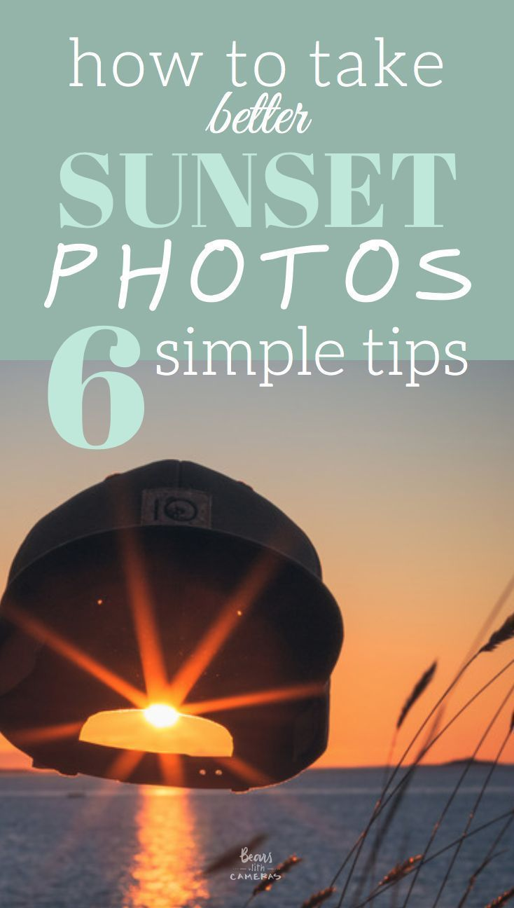 how to take better sunset photos – 6 simple tips -  Step up your sunset photography game by following these 6 simple tips!  #photographytips #naturepho - #