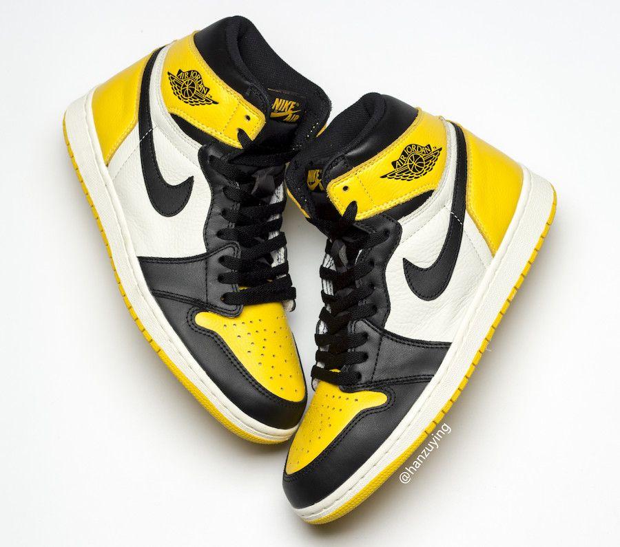 Air Jordan 1 Yellow Toe Release Date