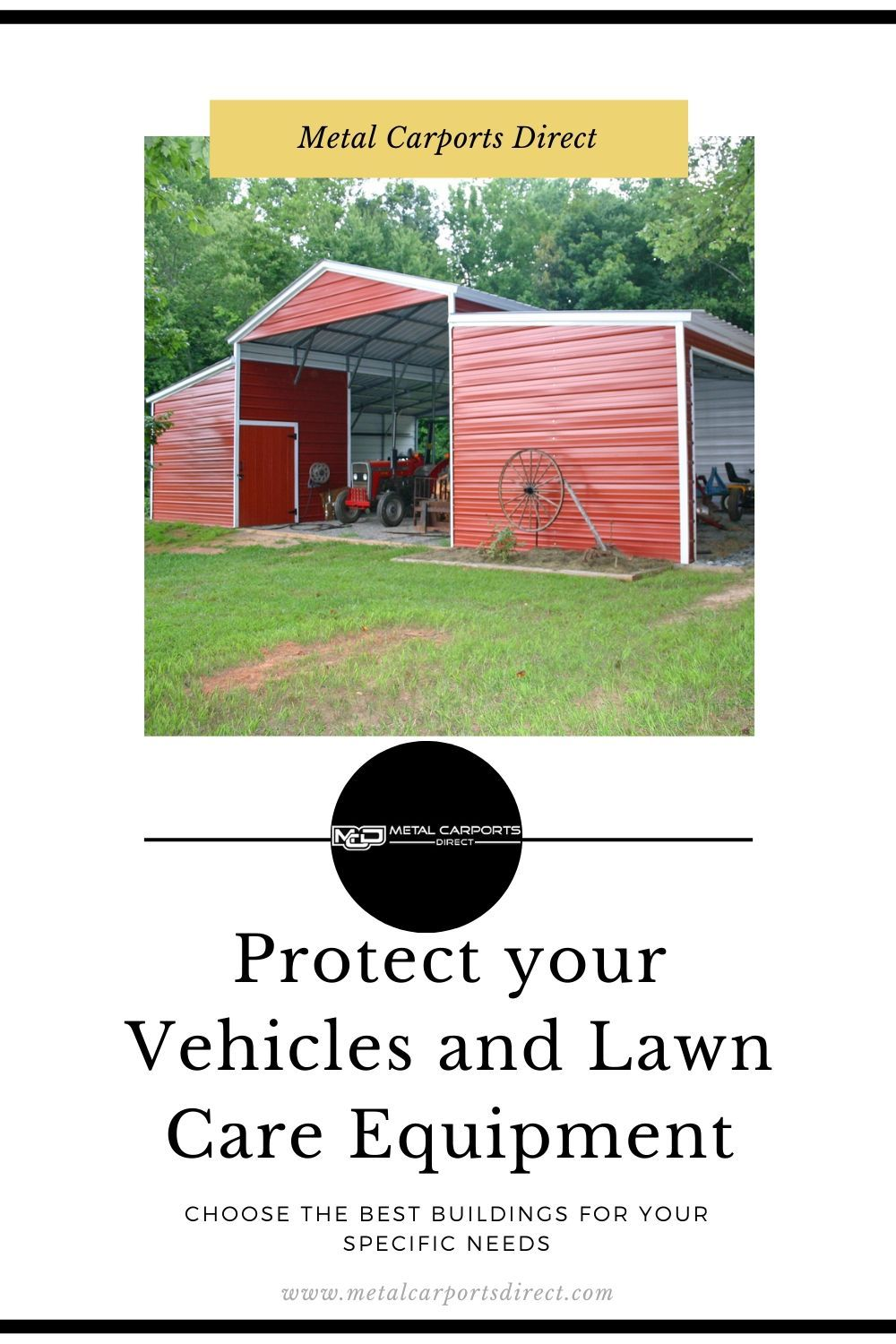 Protect your car, SUV and lawn care equipment with our