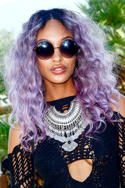 10 Stunning Hair Colors For Dark Skin Tones Ultra Violet Pantone