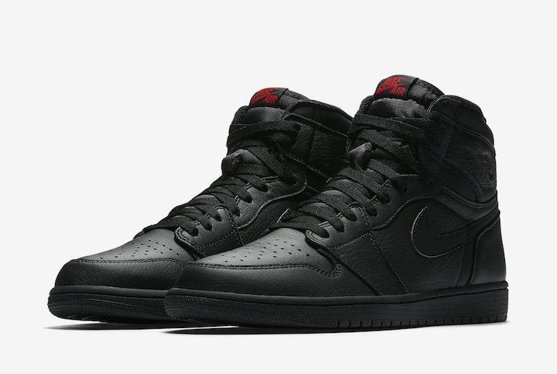 Air Jordan 1 OG Triple Black Red