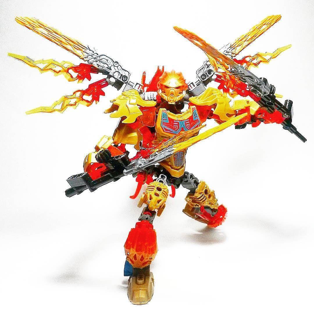 Lego Bionicle Tahu and Ikir creature upgrade by krista2078 ...