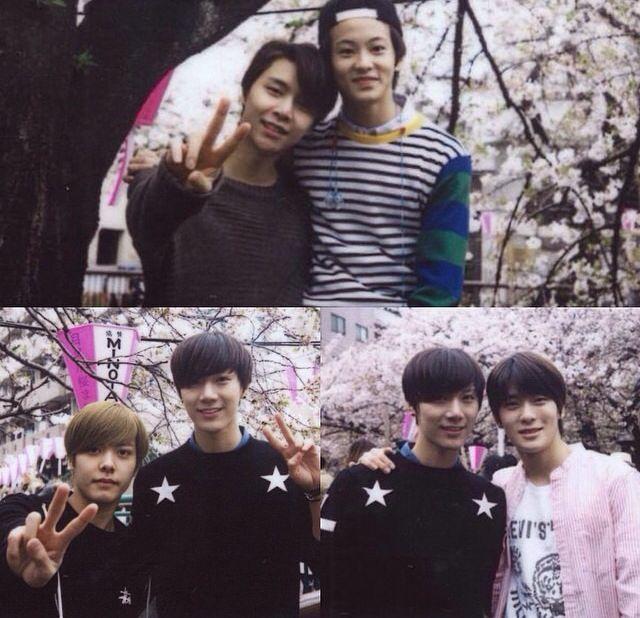 Johnny, Mark, Hansol, Ten And Jaehyun