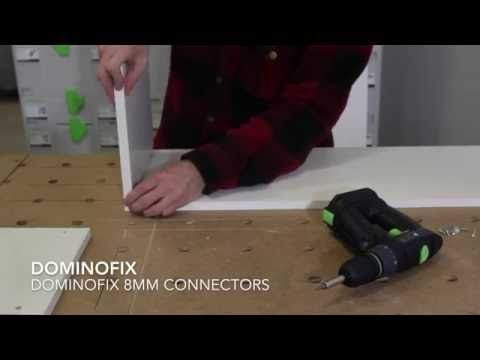 Dominofix 8mm Connectors For Festool Domino Df 500 Alternative Routed Slots Youtube Festool Joinery Swiffer