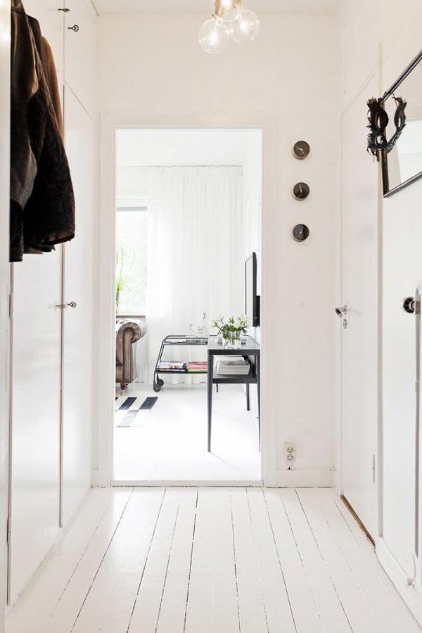 Living In A Shoebox - Small Scandinavian Apartment