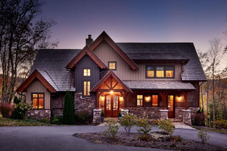 House Plan 8504 00009 Mountain Rustic Plan 2 379 Square
