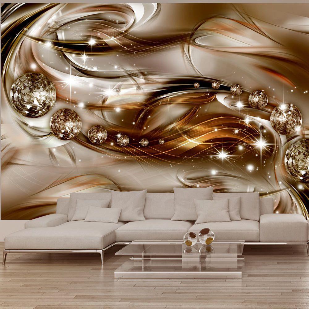 Bildtapete Schlafzimmer | Vlies Fototapete 3 Farben Zur Auswahl Tapeten Abstrakt Diamant