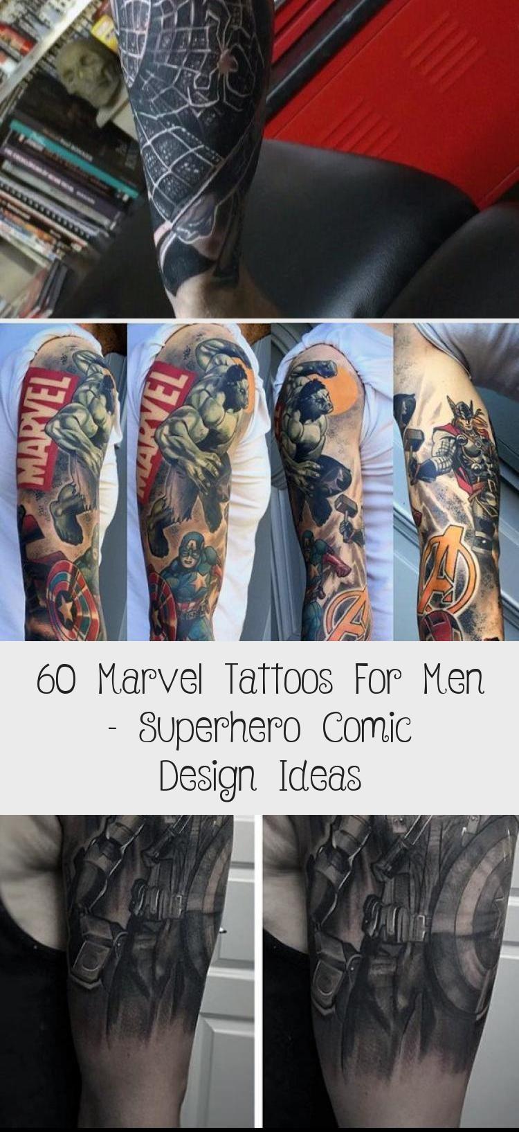 35++ Awesome Comic book tattoo ideas ideas in 2021