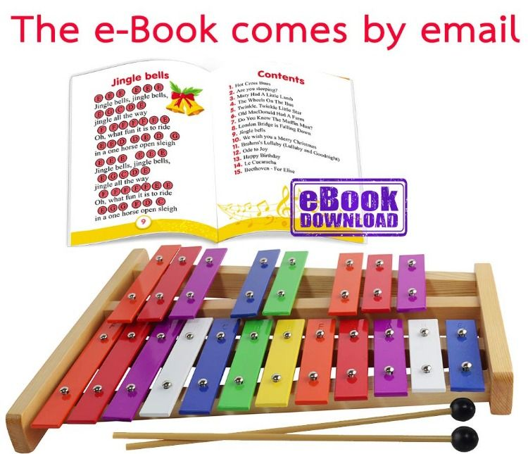 The Xylophone Is Meant For Older Children Who Want To Play Percussion Songs With Sharp And Flat Notes Th Xylophone Glockenspiel Percussion Musical Instruments