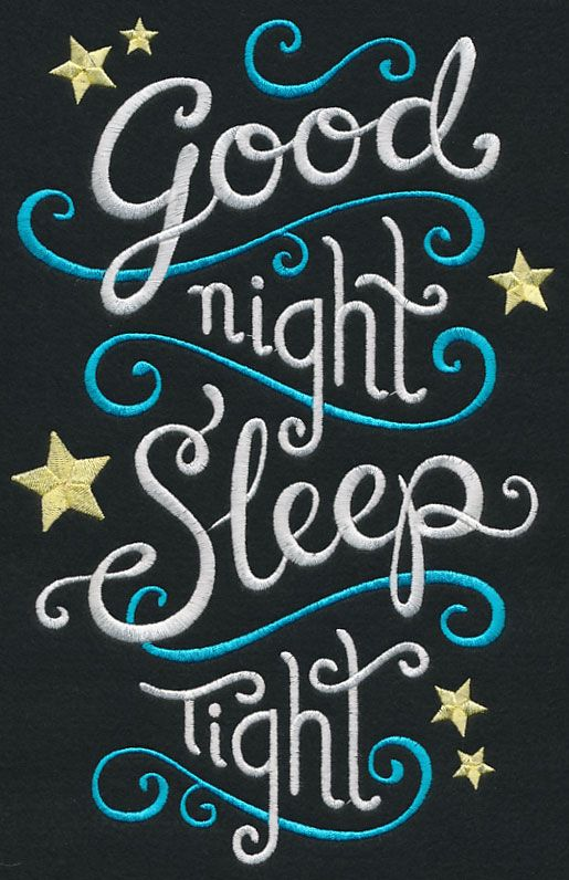 good night sleep tight