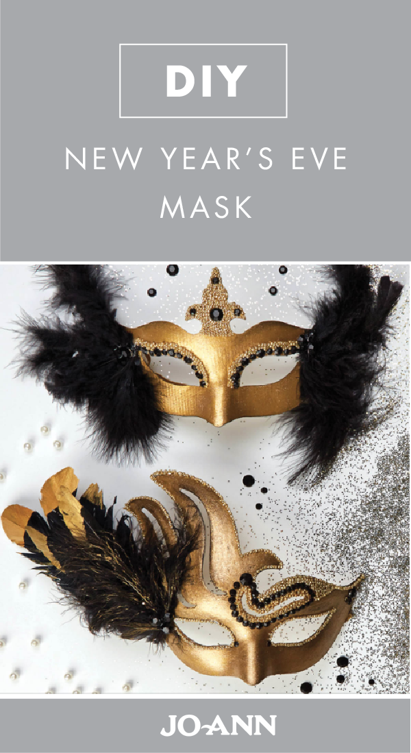new years eve is special as isthrow in a festive masquerade theme and youve got yourself a winning party idea check out this craft project for a diy new