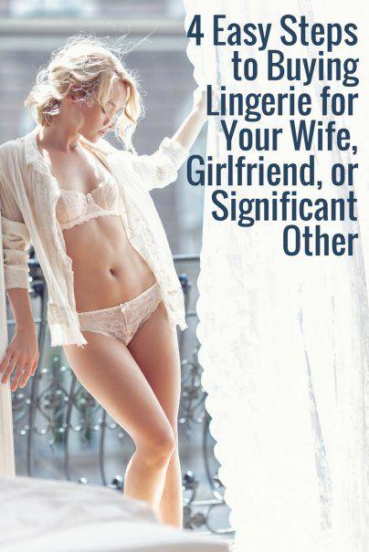 Buying underwear for girlfriend