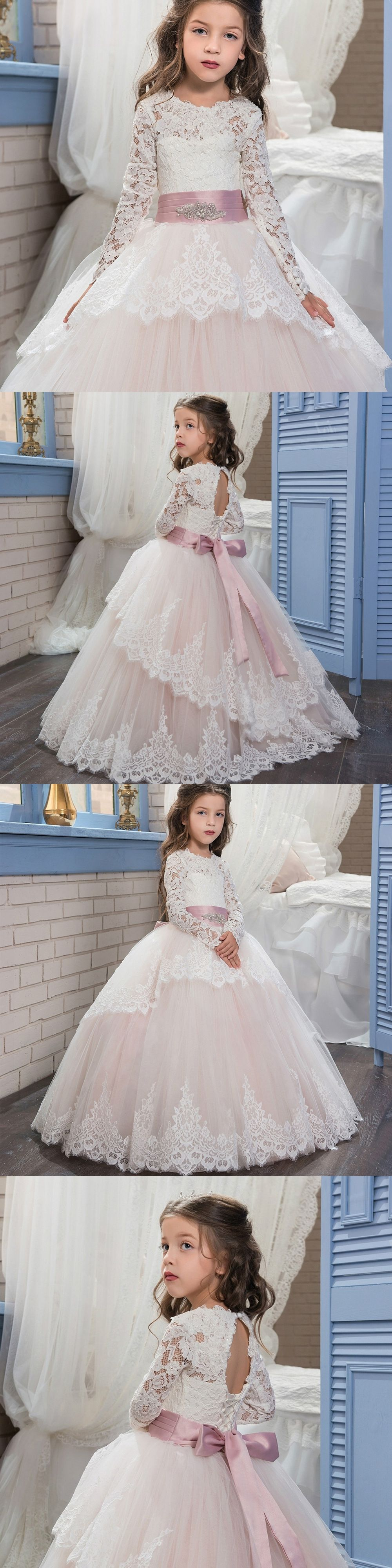 Cute Dresses for 12 Year Olds Dresses Girls Kids 10 Years Evening Dress  2017 High Quality Imported Party Long White Dress 2f5703438575