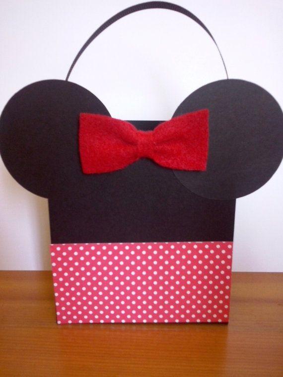 Mickey y Minnie inspirado tratan cajas fiesta por WonderfulParty