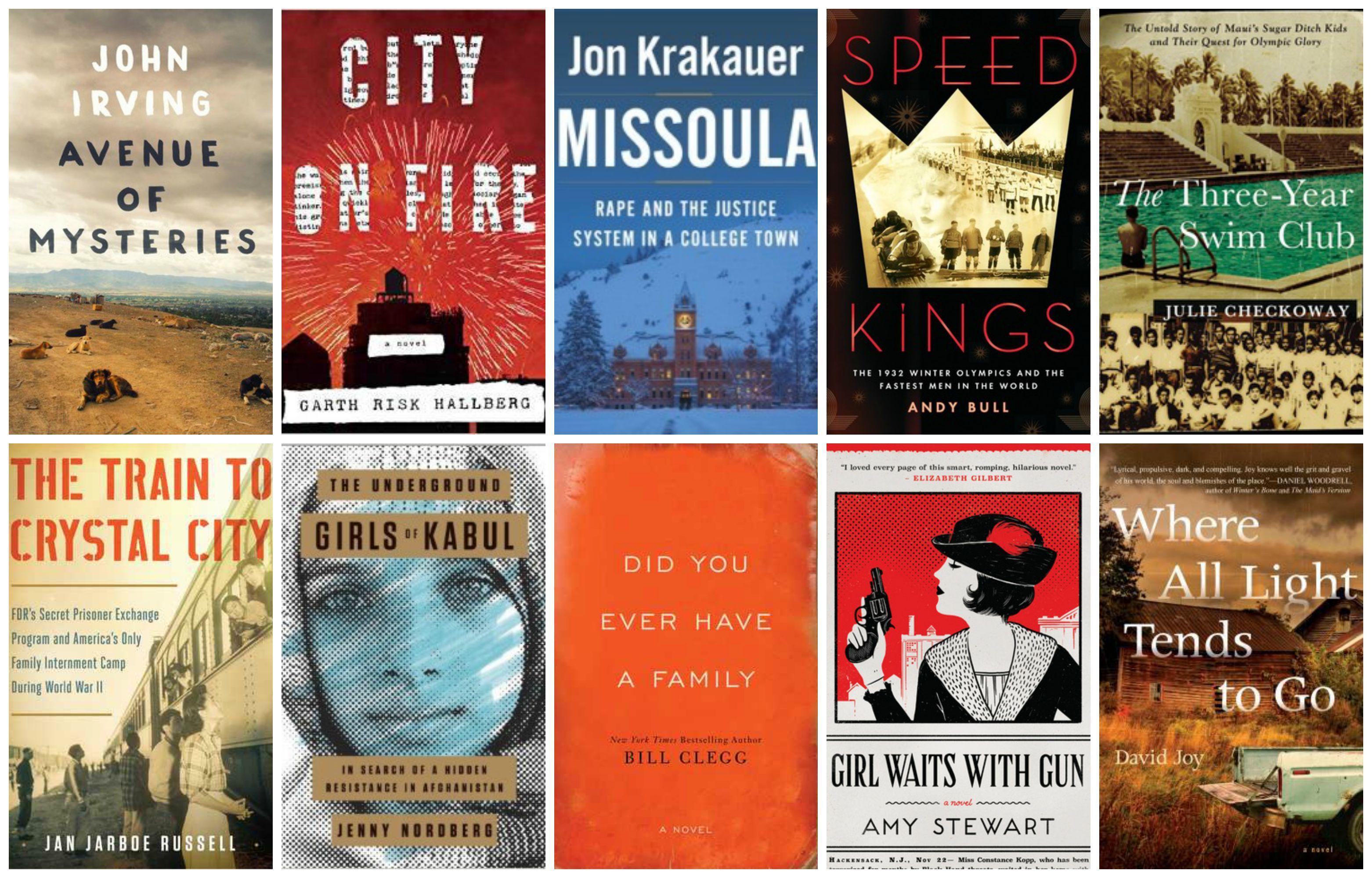 Top 10 Books on my 2015 Fall TBR List