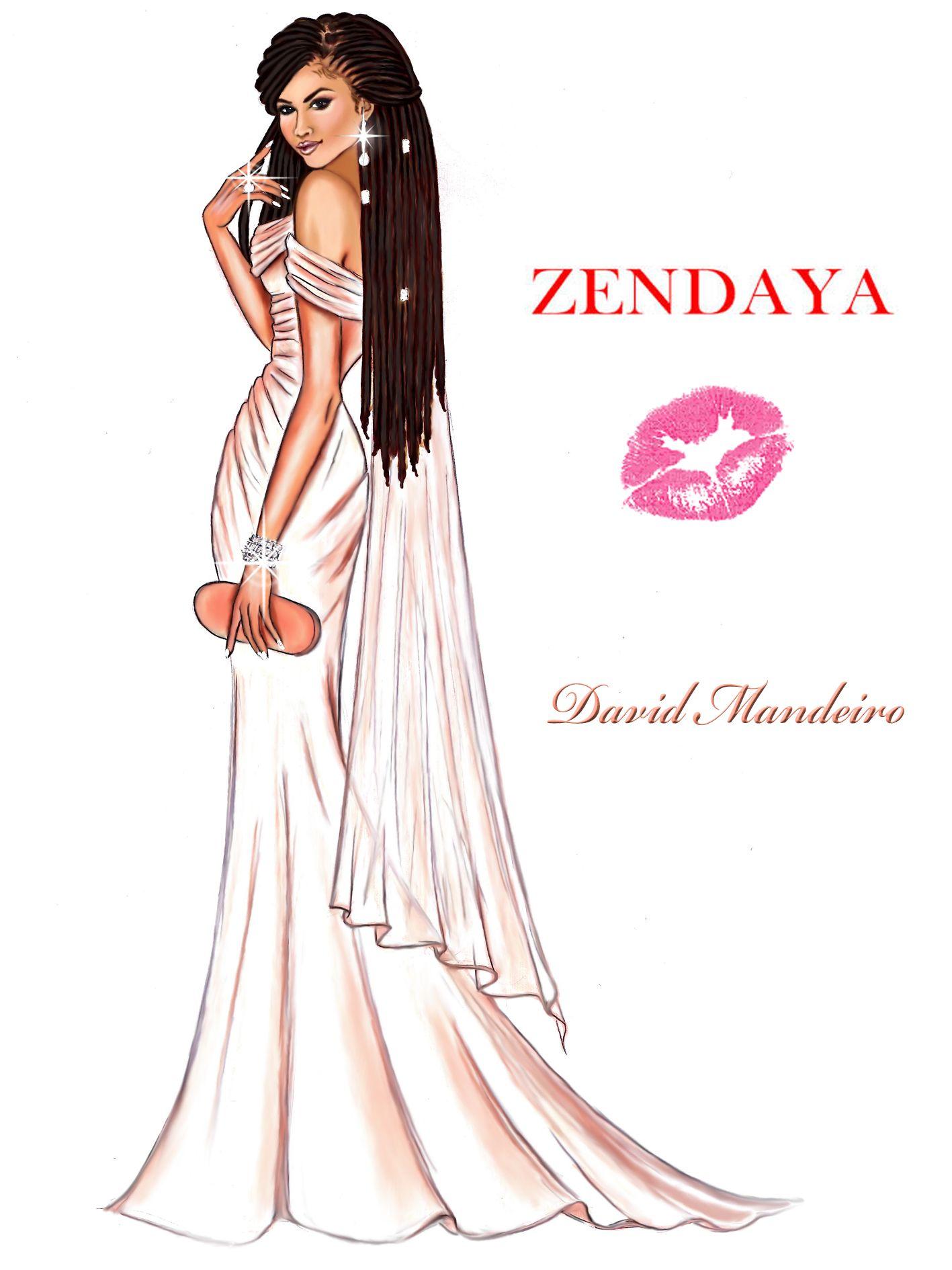 Zendaya in vivienne westwood at oscars 2015 by david mandeiro zendaya in vivienne westwood at oscars 2015 by david mandeiro sciox Choice Image