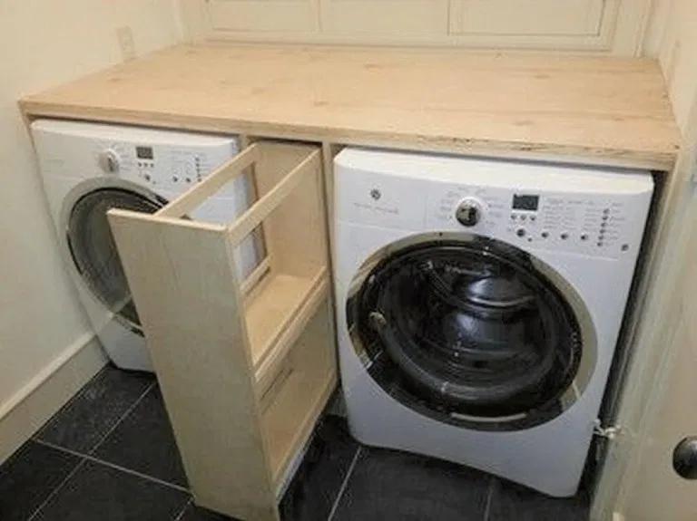 Photo of 34 Projekte Waschküche und Produkte, um unangenehme Gerätelücken zu schließen