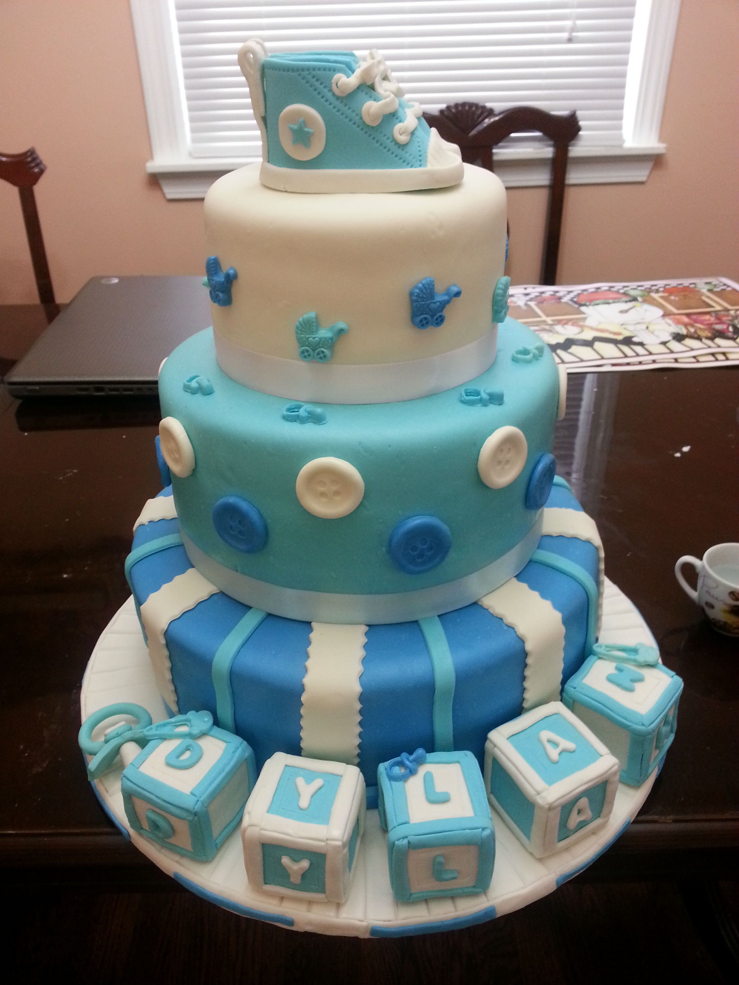Baby Shower - Baby Shower Cakes Boys Pinterest ...