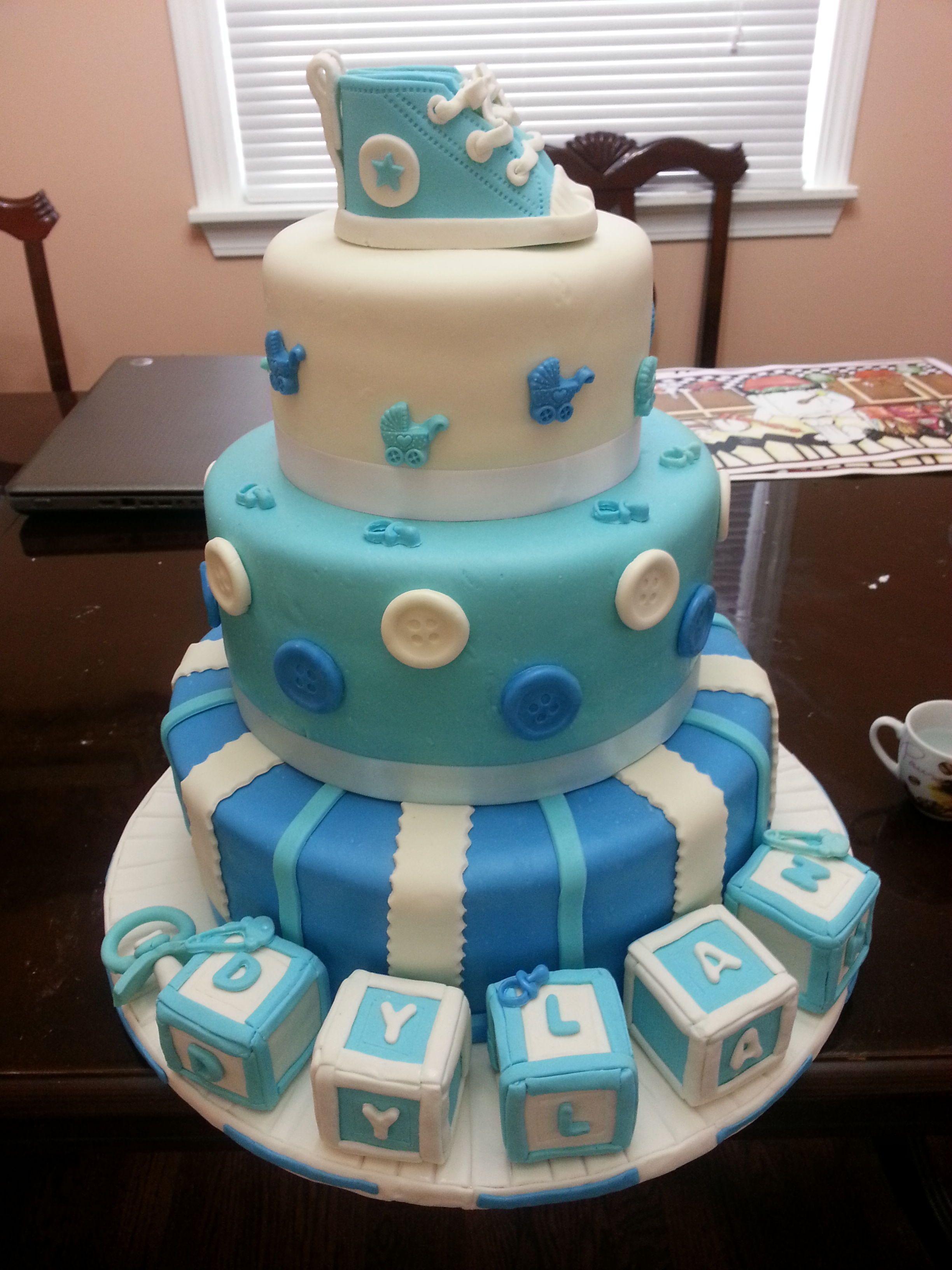 Baby Shower Baby Shower Cakes Boys Pinterest