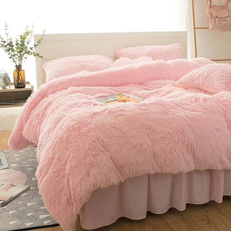 Princess Fluffy Bedding Set In 2019 Fabulous Furnishings